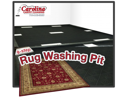 Rug Washing Pit